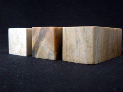 画像1: 旧坑巴林パリン石 30×30×65mm角