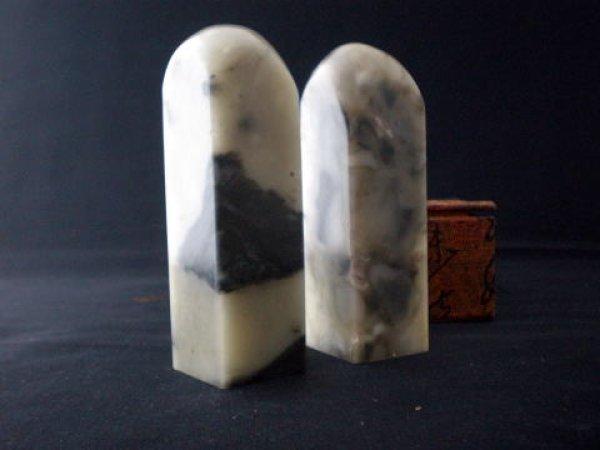 画像1: 寿山芙蓉石 1寸2顆 (1)
