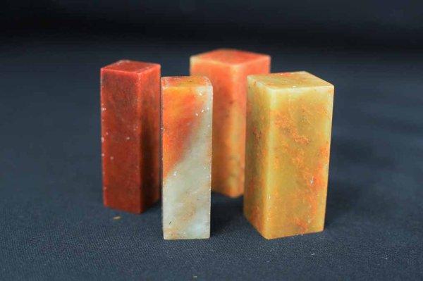 画像1: 朱砂紅凍石0.6×0.6×5cm (1)